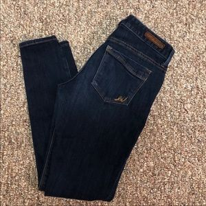 Express Low Rise Skinny Jeans